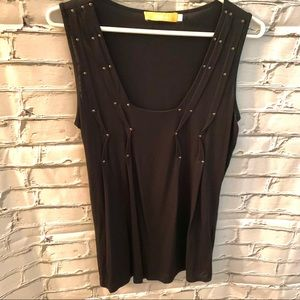 BiBA Black Top Sleeveless Sz S